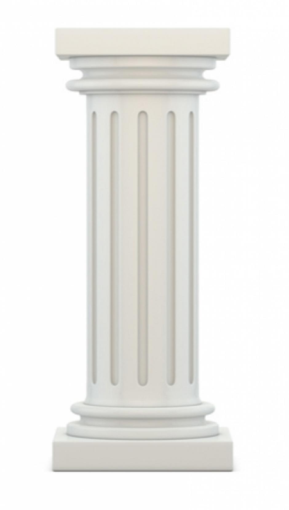 Columnas de marmol blanco materiales de construcci n for Materiales de construccion marmol